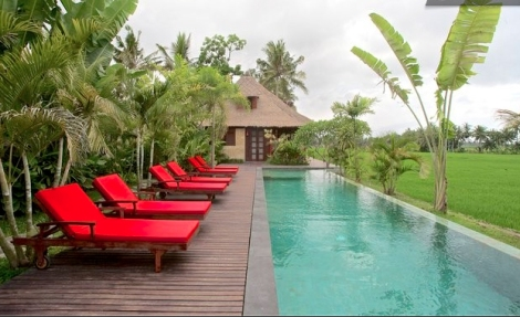 Villa Sungai, Ubud Bali (Courtesy of Airbnb)