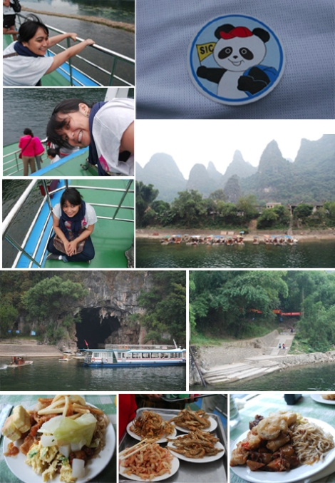 Li River Cruise mid way